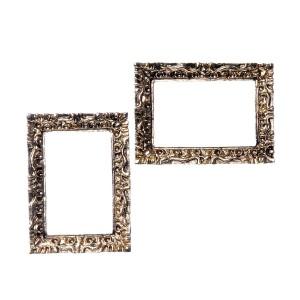 Small baroque frames (2 pcs) 小さいバロック様式のフレーム(2個)
