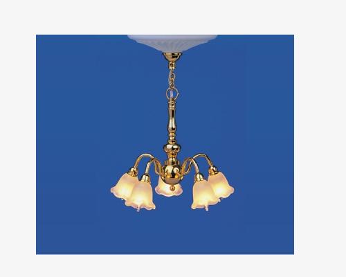 5-light chandelier BRILLIANT 5光のシャンデリア