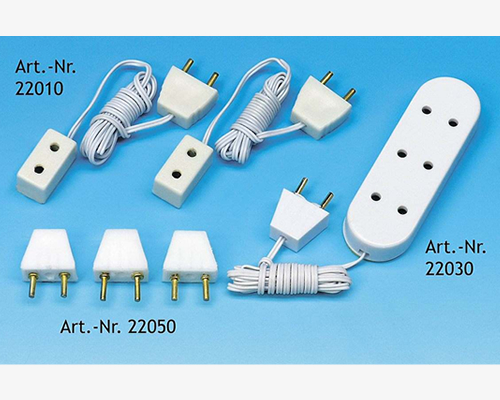 Single wall socket (2 pcs) 単一の壁ソケット
