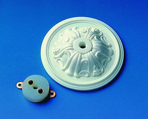 Ceiling rosette with socket コネクタ付きソケット