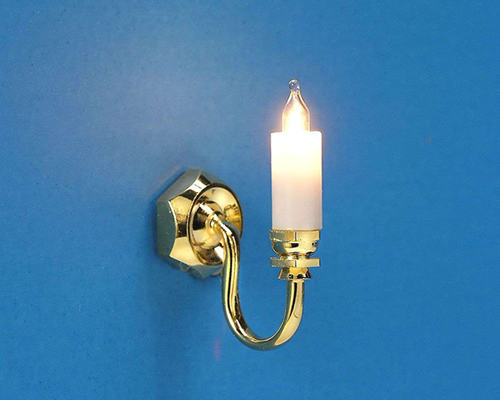 Single candle sconce  MiniLux 1アーム壁燭台