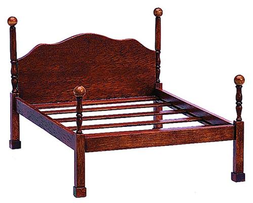 Chippendale canopy bed チッペンデールの天蓋付き ベッド