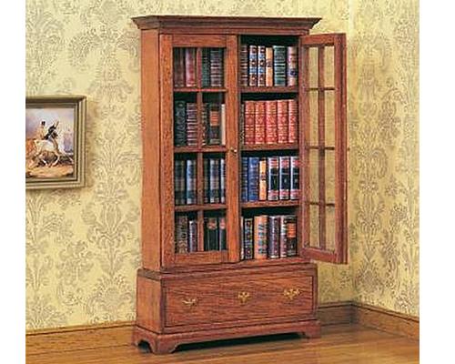 Chippendale bookcase チッペンデールの本棚