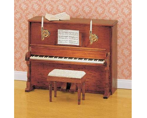 Upright piano with stool アップライトピアノ