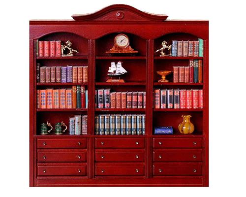Large display cabinet ディスプレイシェルフ/オープンブックシェルフ