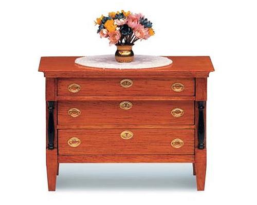 Biedermeier 3 drawer chest ビーダーマイヤー様式・3段チェスト