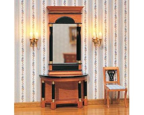 Biedermeier pier mirror ビーダーマイヤー様式 鏡