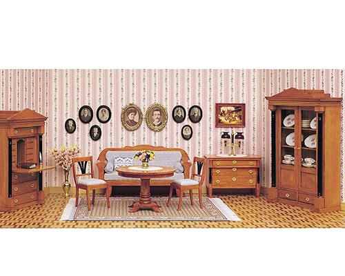 Biedermeier room setting ビーダーマイヤー様式の家具セット(受注発注商品)