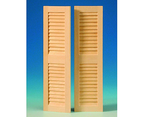 Louvered shutters (2 pcs) シャッター(2枚)