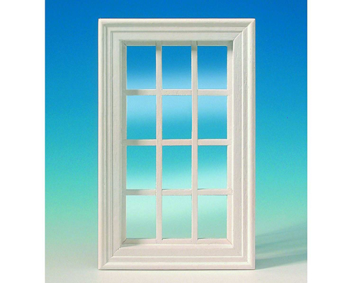 12-light window, white 12光の窓・白