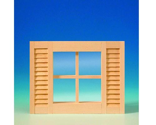 4-light window, shutters シャッター 4光の窓