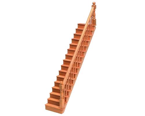 Straight staircase, kit 直線階段・キット(組立式)