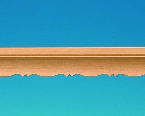 Curved ornamental mouldings 装飾用モールディング(3本入り)