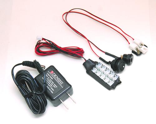 ドールハウスライティングセット(1A) このセットだけで12V用電飾が点灯可能
