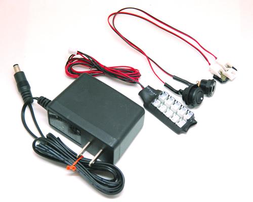 12V電源・点灯セット