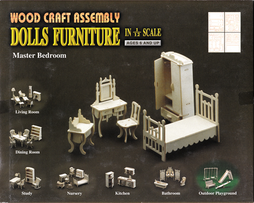 Wood Craft Assembly かんたんキット ベッドルーム
