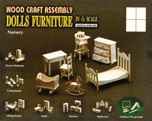 Wood Craft Assembly かんたんキット 子供部屋