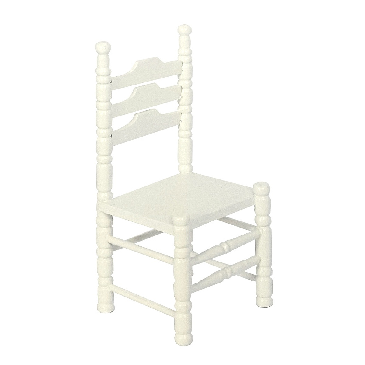 Chairs, white, 2 pcs. 完成品・チェア 2脚セット