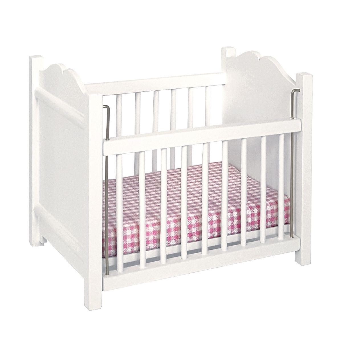 Cot, white 完成品・子供用ベッド