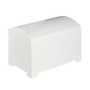 Linen chest, white 完成品・ランドリーチェスト