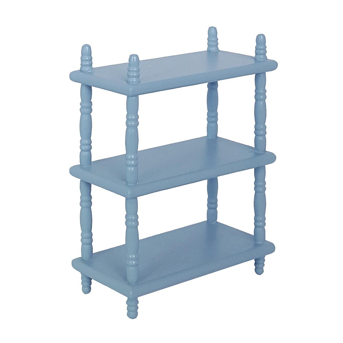 Standing shelf, blue 完成品・スタンドシェルフ ブルー