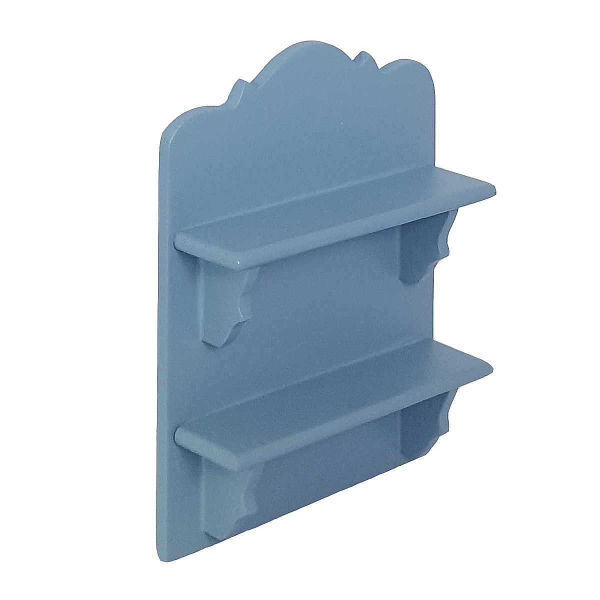 Hanging shelf, blue 完成品・ハンギングシェルフ ブルー