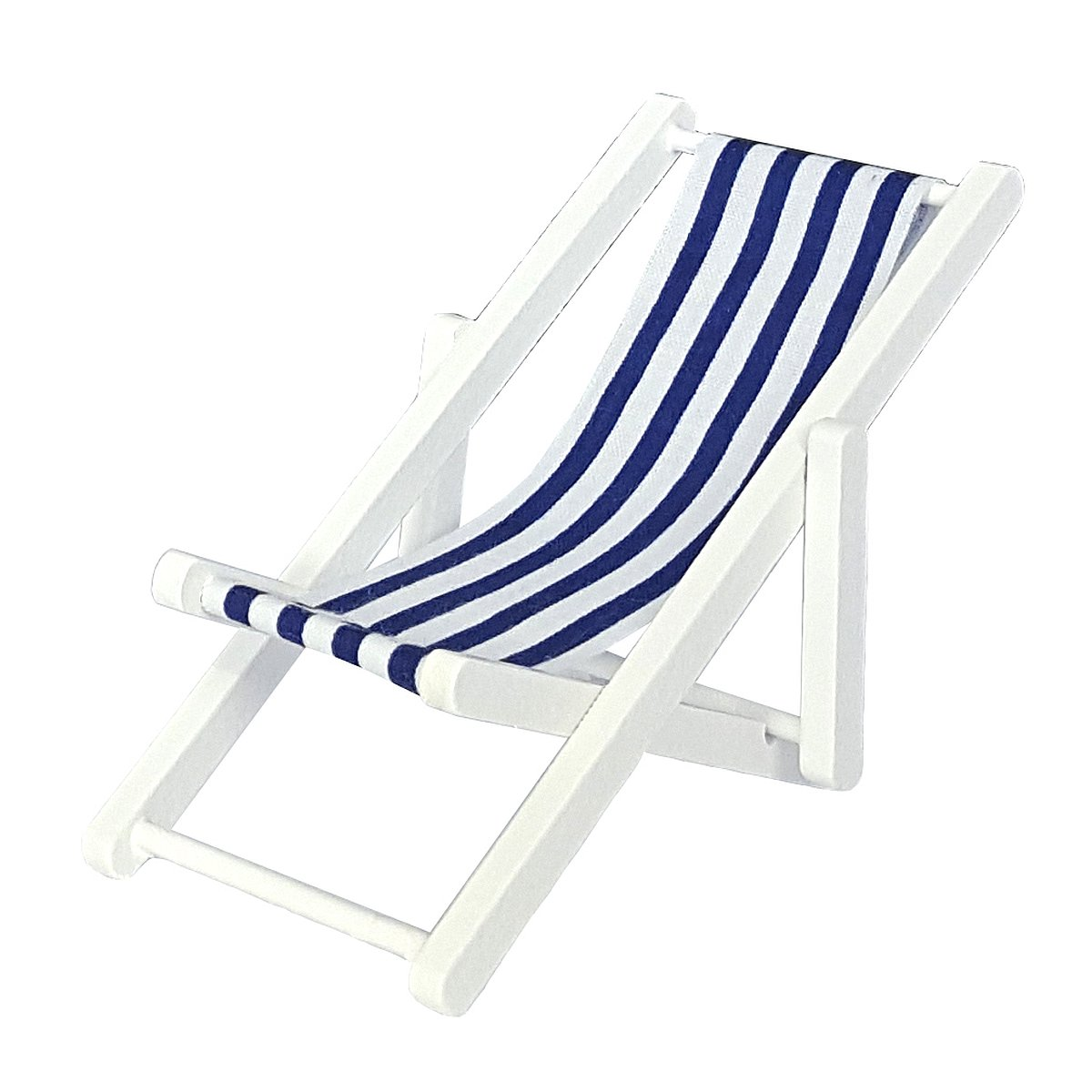 Strand deck chair, white 完成品・デッキチェア