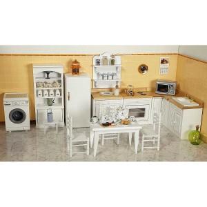 Set of finished furniture - Modern kitchen (11 pcs.) 完成品・キッチン家具セット