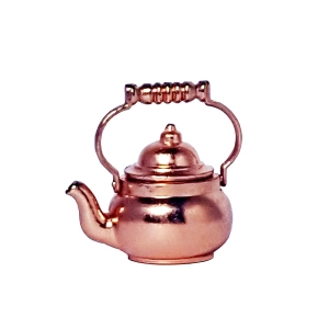 Tea kettle, copper-plated ケトル 真鍮銅メッキ製